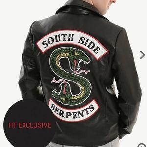 "Riverdale ""South Side Serpents"" moto jacket"